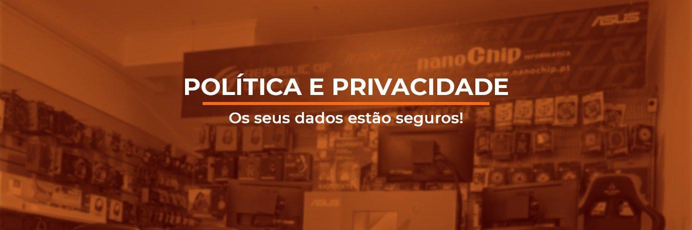 nanoChip Política e Privacidade