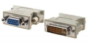 Adaptador 1LIFE DVI-I 24+5 Macho P/ VGA Fêmea