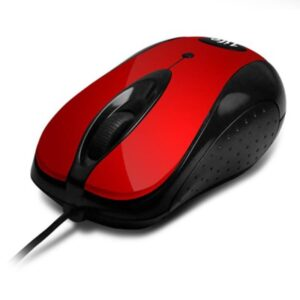 Rato 1LIFE m:micro Optical Vermelho
