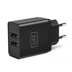 Carregador 1LIFE pa:dual USB Dual USB Power Adapter