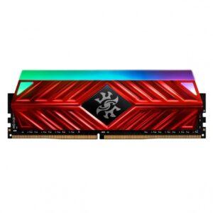Memória ADATA XPG SPECTRIX RGB D41 8GB DDR4 3200MHz CL16 Red