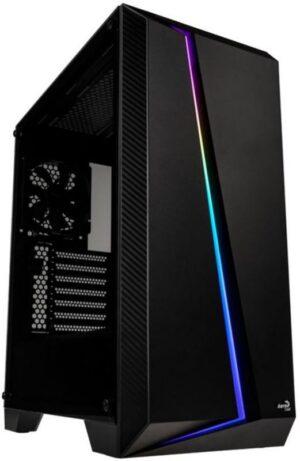 Caixa AEROCOOL Cylon Pro RGB Vidro Temperado Black