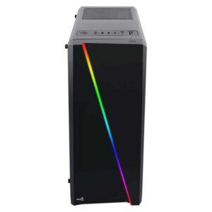Caixa AEROCOOL Cylon RGB Flow Led Black