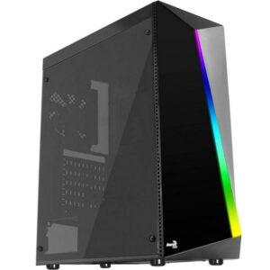 Caixa AEROCOOL Shard RGB Led USB 3.0 Black
