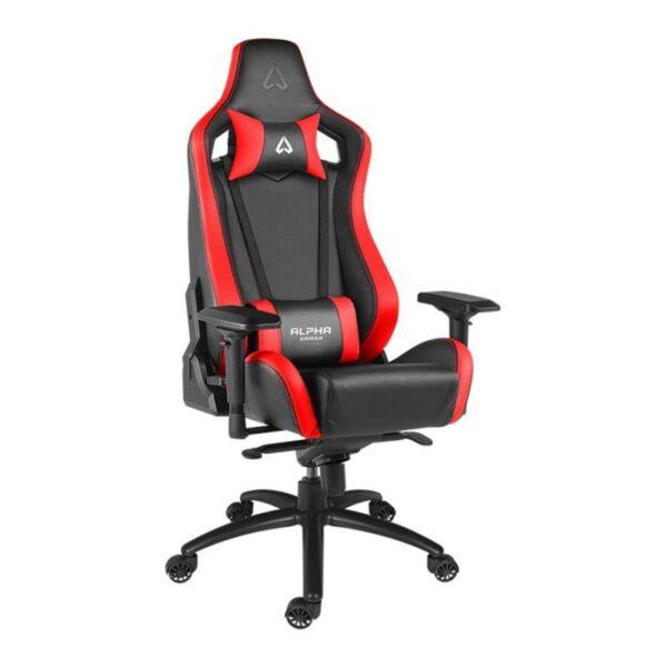 Cadeira ALPHA GAMER Polaris Racing Preto/Vermelho