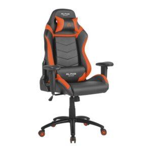 Cadeira Gaming ALPHA GAMER Gamma Black/Orange