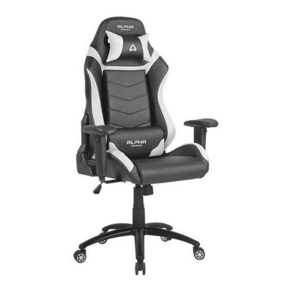 Cadeira Gaming ALPHA GAMER Gamma Black/White