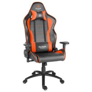Cadeira ALPHA GAMER Pollux Gaming Black/Orange