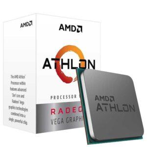 Processador AMD Athlon 3000G 2-Core 3.5GHz 5MB AM4 BOX