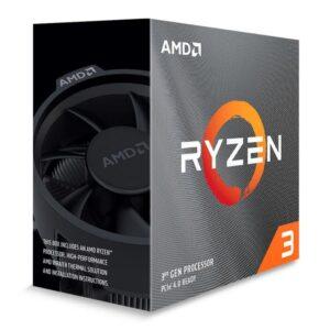 PROCESSADOR AMD Ryzen 3 3100 4-Core 3.6GHz 18MB AM4 BOX