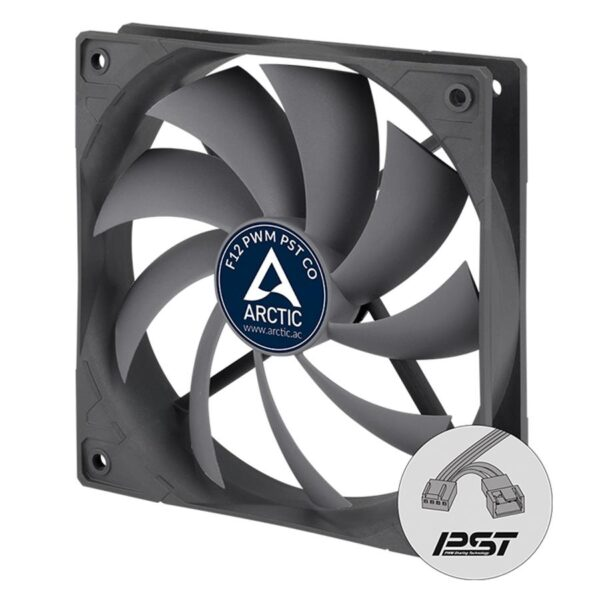 Ventoinha ARCTIC COOLING Case Fan F12 PWM PST CO 120mm