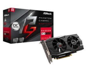 Placa Gráfica ASROCK RADEON RX580 PHANTOM GAMING OC 8GB DDR5