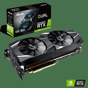 PLACA GRÁFICA ASUS GeForce RTX2070 DUAL OC 8GB DDR6