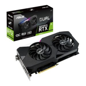 Placa Gráfica ASUS GeForce RTX3060 TI DUAL OC V2 8GB DDR6 PCI-E 4.0 LHR