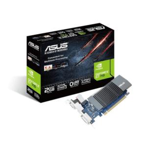 PLACA GRÁFICA ASUS GeForce GT710 Silent LP 2GB GDDR5