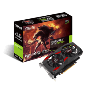 PLACA GRÁFICA ASUS GeForce GTX1050 TI CERBERUS ADVANCED 4GB
