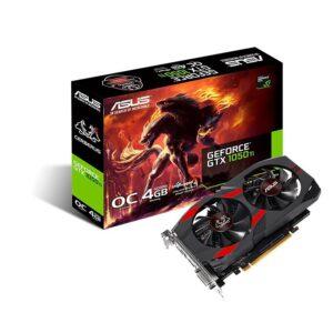 PLACA GRÁFICA ASUS GeForce GTX1050 TI CERBERUS OC 4GB GDDR5