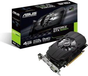 Placa Gráfica ASUS GeForce GTX1050 TI PH 4GB GDDR5