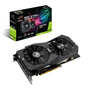 PLACA GRÁFICA ASUS GeForce GTX1650 SUPER ROG STRIX 4GB OC