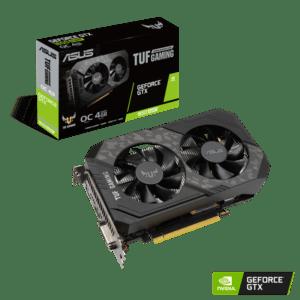 PLACA GRÁFICA ASUS GeForce GTX1650 SUPER TUF GAMING 4GB OC