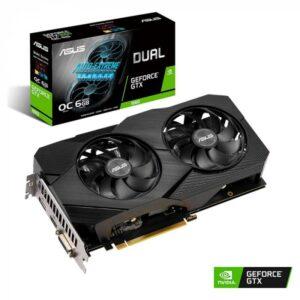 PLACA GRÁFICA ASUS GeForce GTX1660 DUAL EVO 6GB OC DDR5