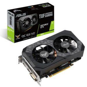 PLACA GRÁFICA ASUS GeForce GTX1660 TUF Gaming OC 6GB