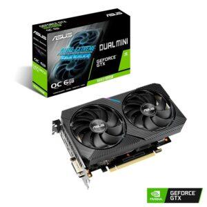 Placa Gráfica ASUS GeForce GTX1660 SUPER DUAL MINI OC 6GB DDR6