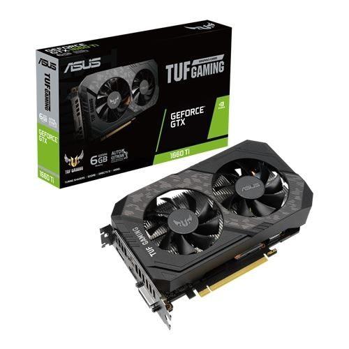Placa Gráfica ASUS GeForce GTX1660 TI TUF EVO Gaming 6GB