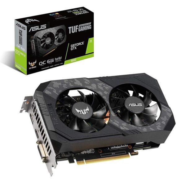 Placa Gráfica ASUS GeForce GTX1660 TUF Gaming 6GB