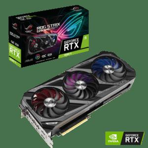 Placa ASUS ROG Strix GeForce RTX 3080 Ti OC Edition 12GB GDDR6X