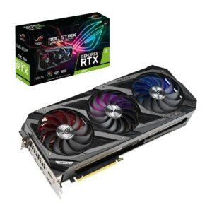 Placa Gráfica ASUS ROG Strix GeForce RTX 3080 V2 10GB GDDR6X OC LHR