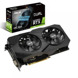Placa Gráfica ASUS GeForce RTX2060 DUAL EVO OC 6GB DDR6 PCIE