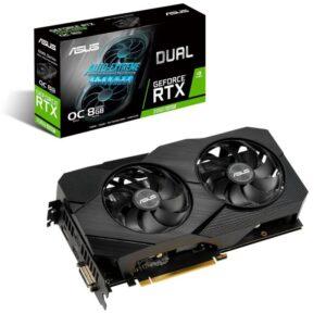 Placa Gráfica ASUS GeForce RTX2060 SUPER DUAL EVO V2 8GB OC