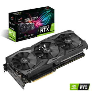 PLACA GRÁFICA ASUS GeForce RTX2070 ROG STRIX ADVANCED 8GB
