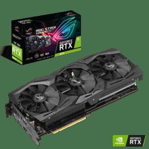 PLACA GRÁFICA ASUS GeForce RTX2070 ROG STRIX OC 8GB DDR6