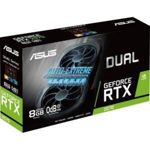 Placa Gráfica ASUS GeForce RTX 2070 DUAL EVO 8GB DDR6
