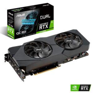 Placa Gráfica ASUS GeForce RTX2070 SUPER EVO 8GB OC DDR6