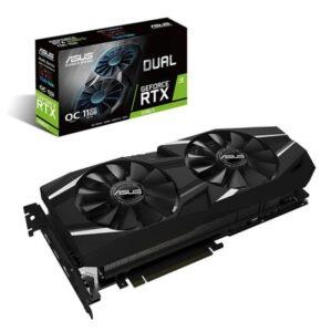 Gráfica ASUS GeForce RTX2080 TI DUAL OC 11GB DDR6 PCI-E 3.0