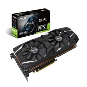 PLACA GRÁFICA ASUS GeForce RTX2080 TI DUAL 11GB DDR6 PCI-E