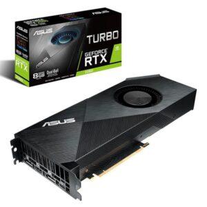 Placa Gráfica ASUS GeForce RTX2080 TURBO 8GB DDR6 PCI-E 3.0