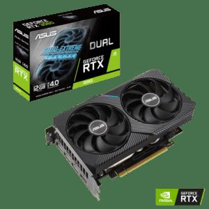 Placa Gráfica ASUS GeForce RTX3060 DUAL 12GB GDDR6