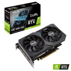 Placa Gráfica ASUS GeForce RTX3060 DUAL OC V2 12GB GDDR6