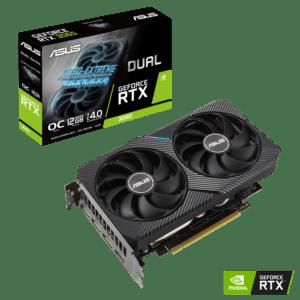 Placa Gráfica ASUS GeForce RTX3060 DUAL OC 12GB GDDR6