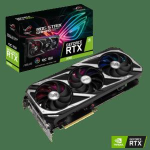 Placa Gráfica ASUS GeForce RTX3060 ROG STRIX V2 12GB GDDR6