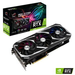 Placa Gráfica ASUS GeForce RTX3060 ROG STRIX GAMING OC V2 12GB GDDR6 LHR
