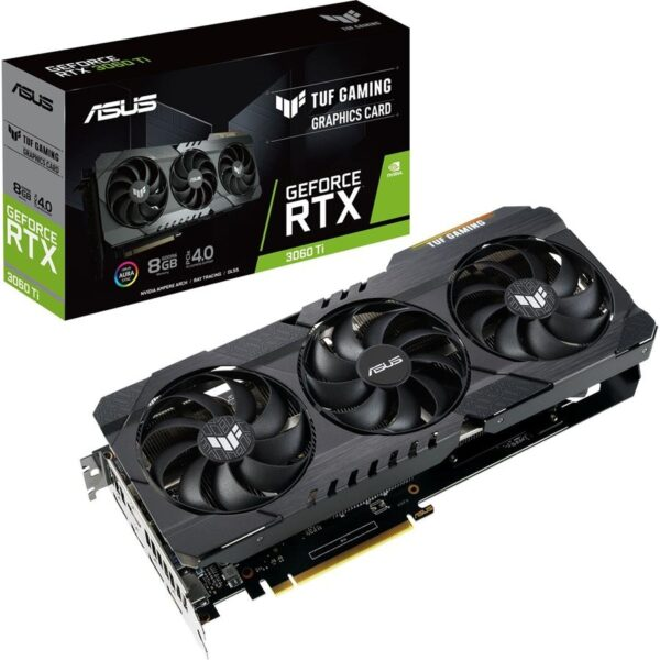 Placa Grafica ASUS GeForce RTX3060 TI TUF GAMING 8GB GDDR6