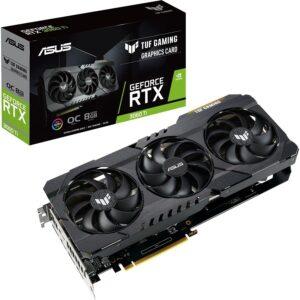 Placa Gráfica ASUS GeForce RTX3060 TI TUF GAMING OC 8GB