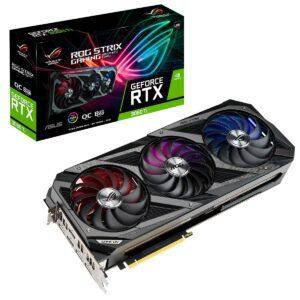 Placa Gráfica ASUS GeForce RTX3060 TI ROG STRIX OC GAMING V2 8GB GDDR6 LHR