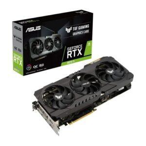 Placa Gráfica ASUS GeForce RTX3070 TI TUF GAMING OC 8GB DDR6