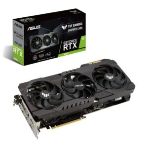 PLACA GRÁFICA ASUS GeForce RTX3080 TUF GAMING 10GB GDDR6